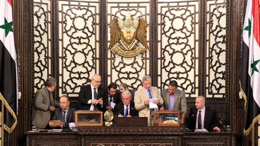 El Parlamento sirio elige por primera vez a un cristiano como su presidente