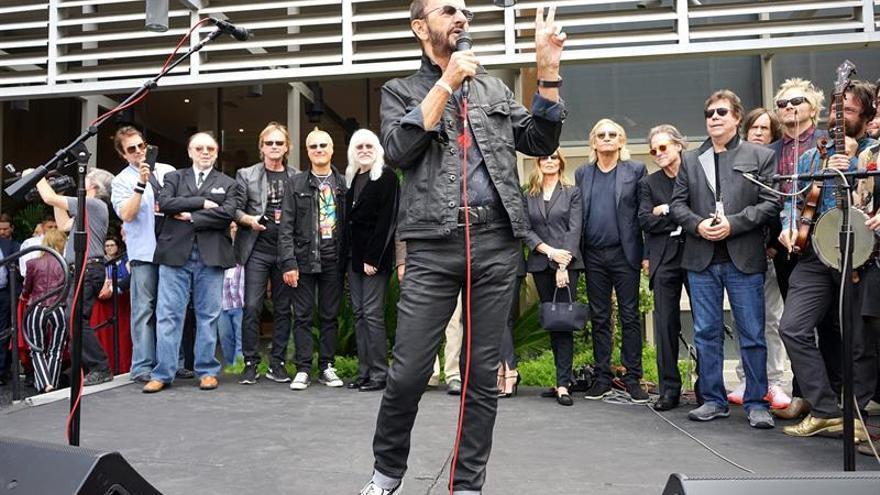 """El exBeatle Ringo Starr elogia el """"brexit"""""""