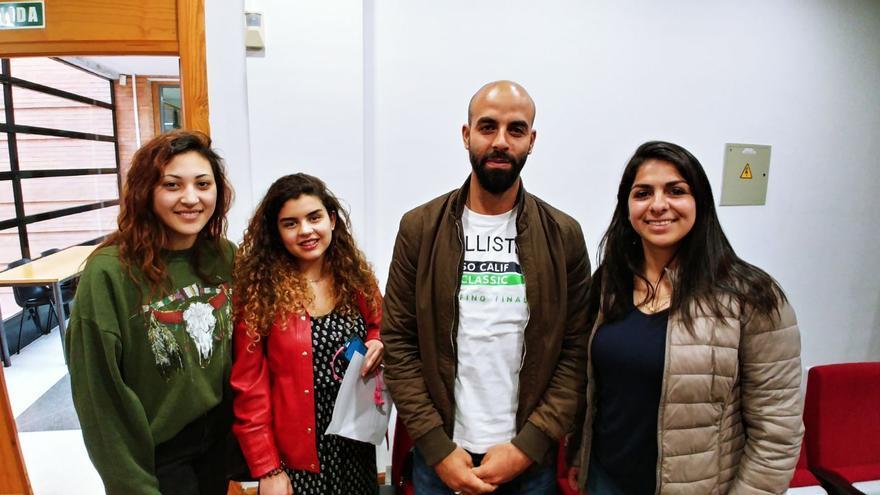 Erasmus de Palestina en la UMA.
