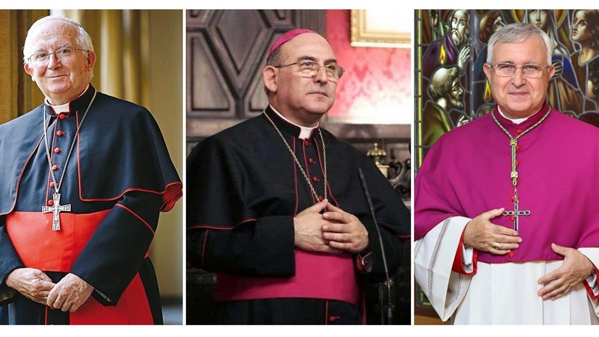 Els bisbes valencians.