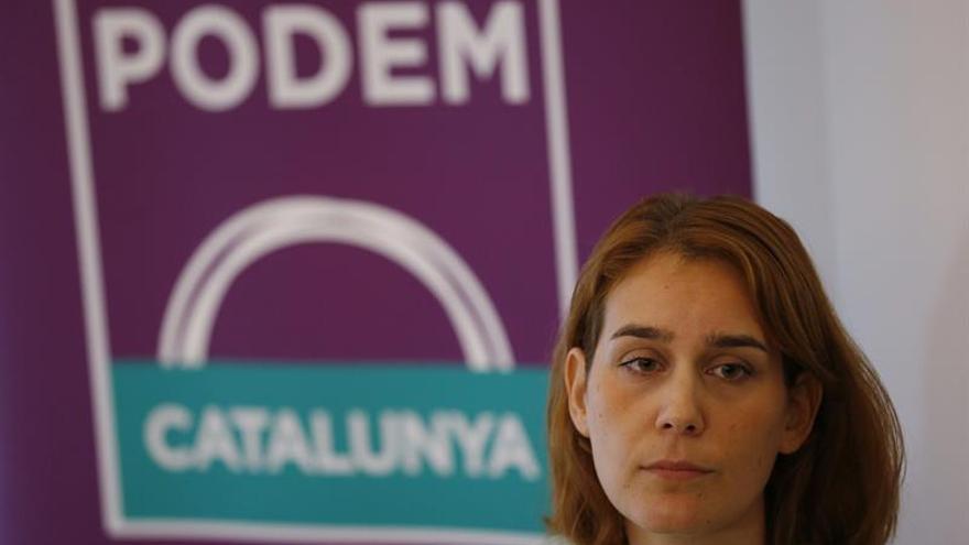 La diputada Jéssica Albiach presenta su candidatura feminista a liderar Podem
