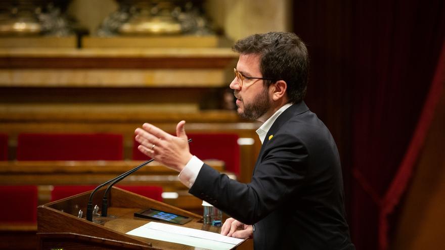 """Aragonès aplaude el tercer grado a los presos aunque """"la única solución es la amnistía"""""""