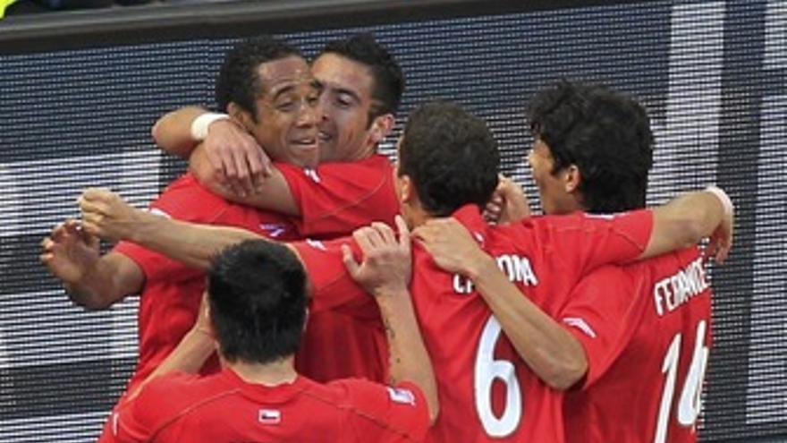 La selección chilena de fútbol