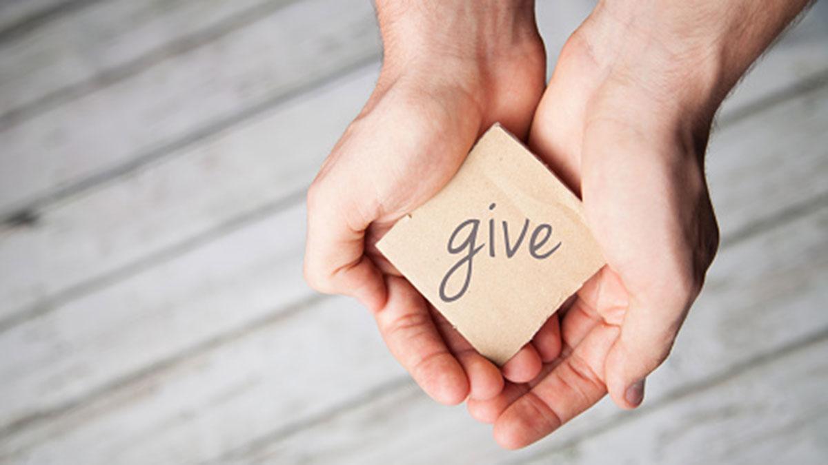 Givers gain (Los que dan, ganan).
