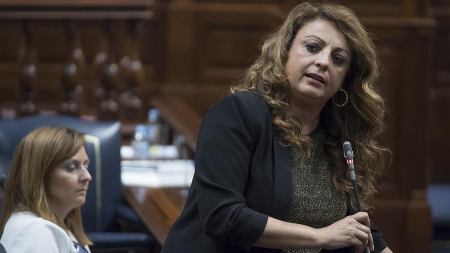 La consejera de Empleo, Políticas Sociales y Vivienda, Cristina Valido.