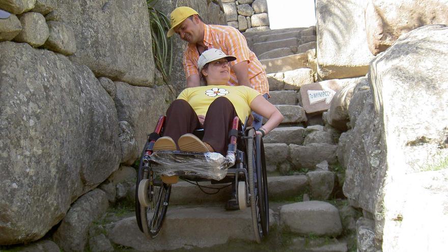Un estudio revela la falta de adaptación de los pueblos de Castilla y León para el discapacitado. PREDIF