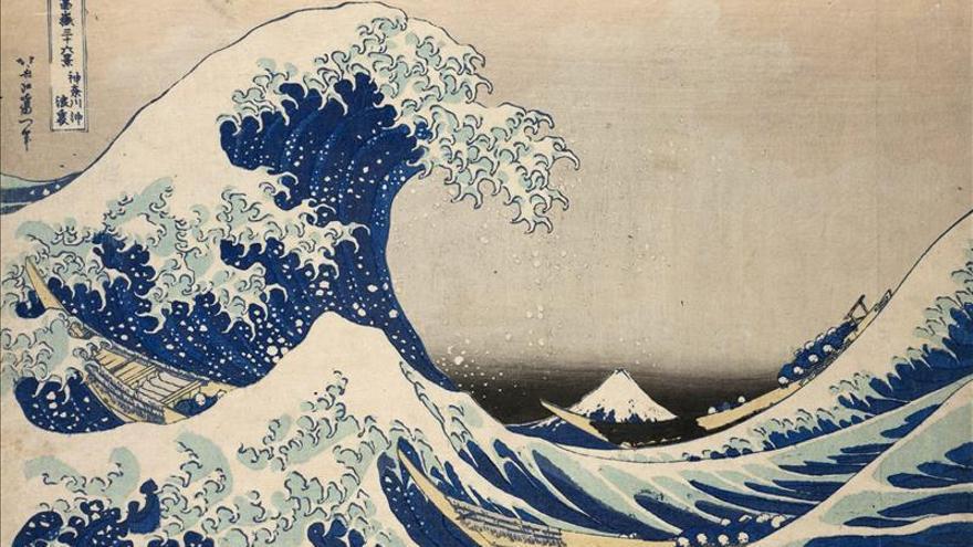 París descubre a Hokusai en la mayor retrospectiva organizada fuera de Japón
