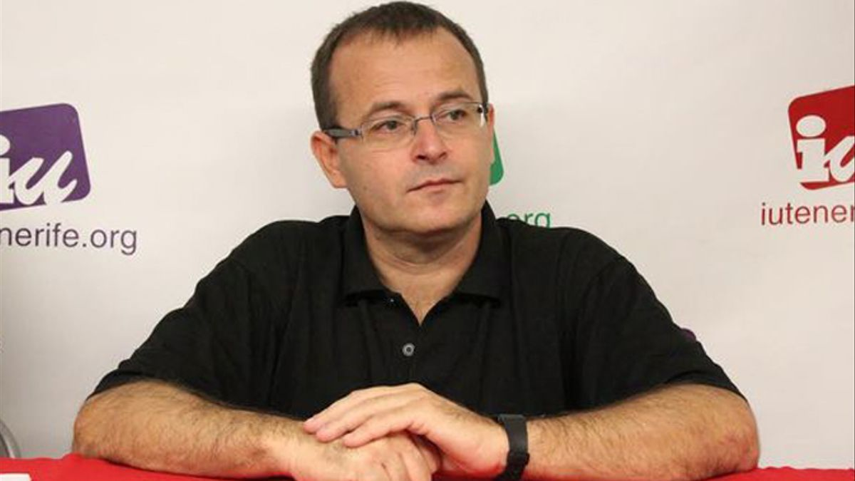Ramón Trujillo, portavoz de Unidas Podemos