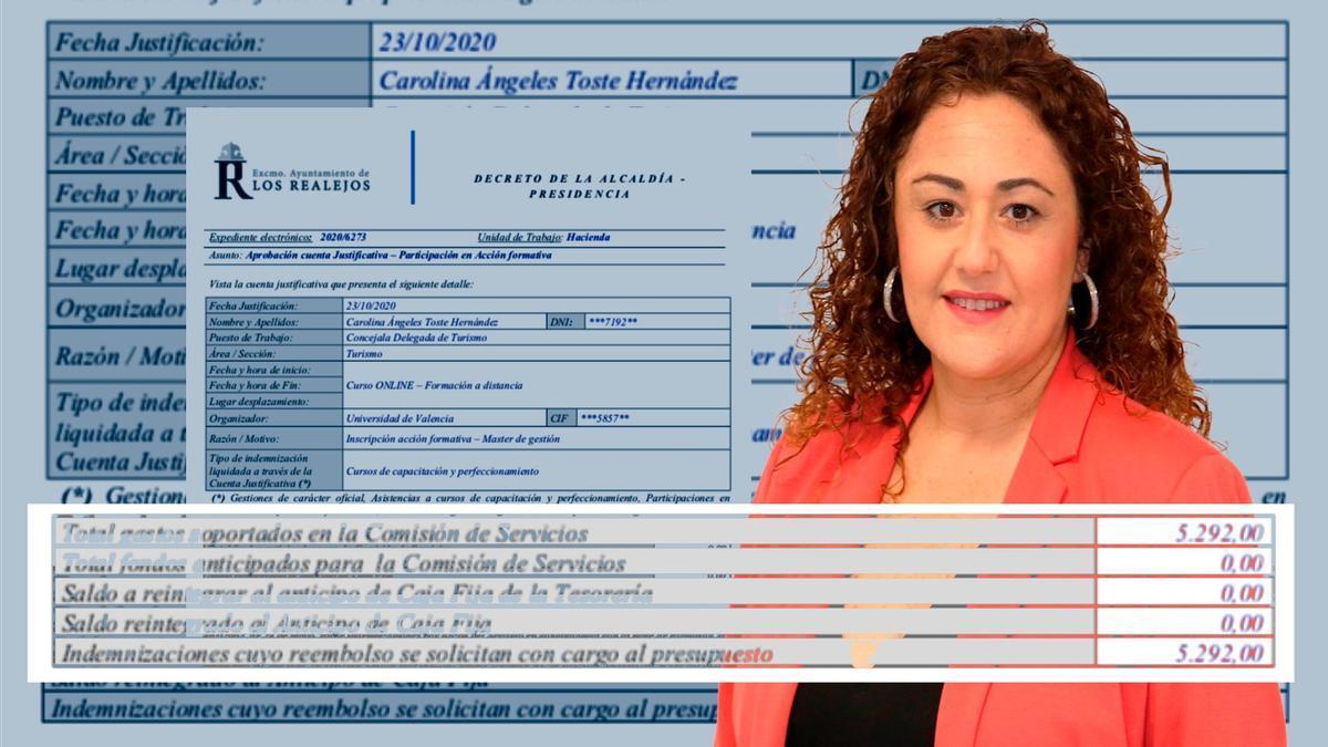 La concejala de Turismo del Ayuntamiento de Los Realejos Carolina Ángeles Toste