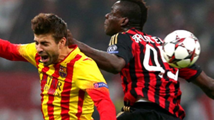 El Milan-Barça y Roncero también golean en la red de redes
