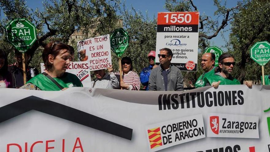 """La PAH ve """"alarmante"""" el aumento de desahucios por no poder pagar el alquiler"""