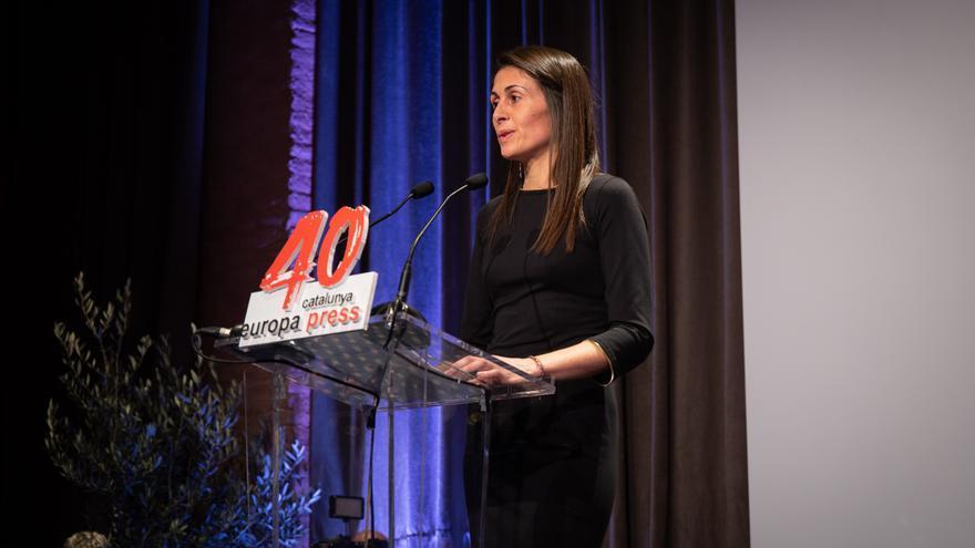 La nueva directora de 'El periódico de Catalunya', Anna Cristeto, en una imagen e archivo.