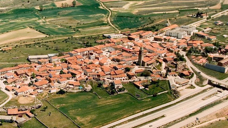 Alcolea del Pinar (Guadalajara), un municipio junto a la A-2 en el límite provincial
