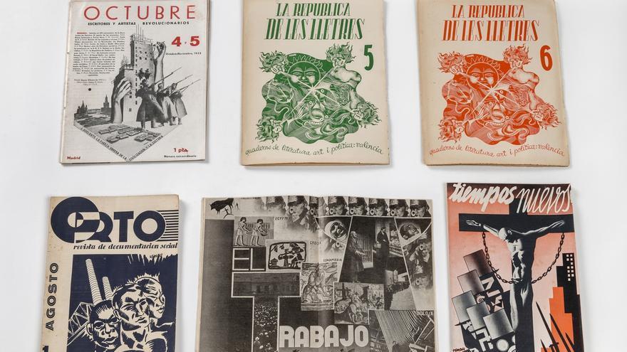 Revistas, de Renau