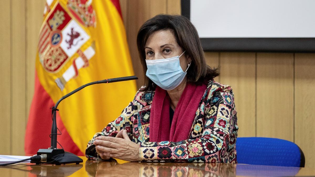 La ministra de Defensa, Margarita Robles. EFE/Rodrigo Jiménez/Archivo