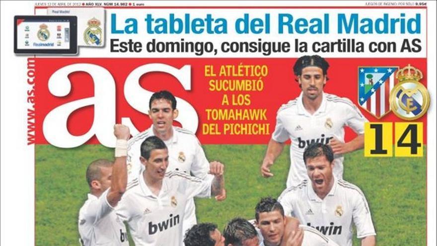 De las portadas del día (12/04/2012) #11