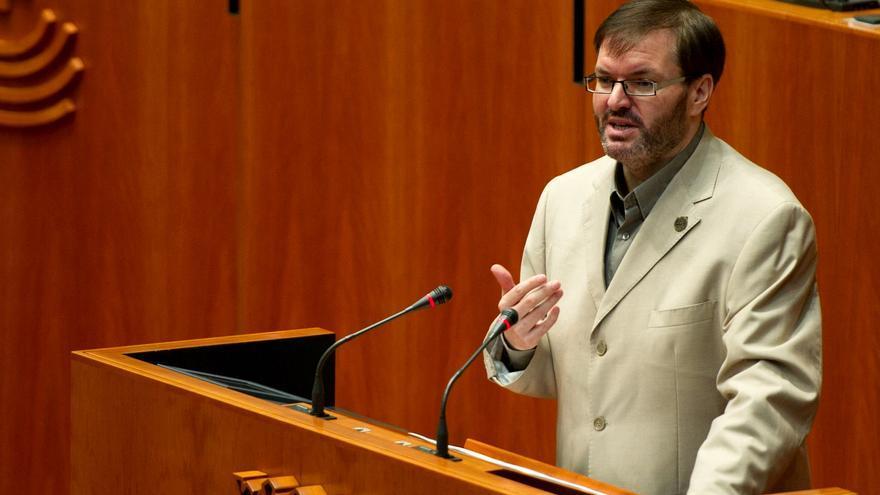 Víctor Casco es diputado de IU en la Asamblea de Extremadura / Susana Sauceda