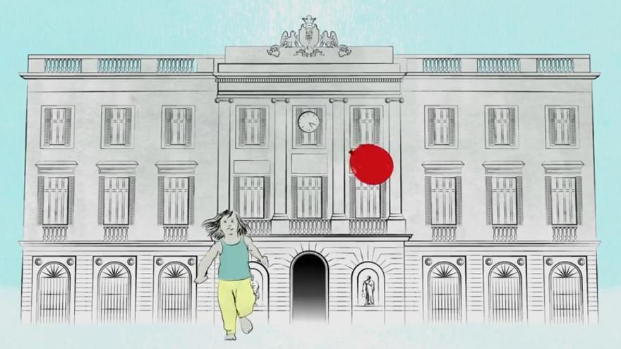 Captura del vídeo de presentación de Guanyem Barcelona.
