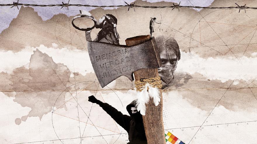 Fragmento de la portada de 'Awkan, haciendo hablar al silencio'.