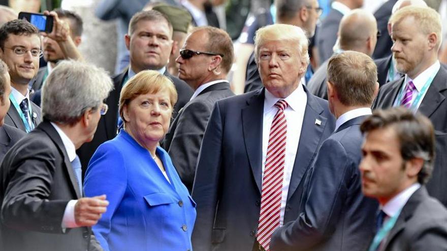 """Trump dice que la política comercial y militar alemana es """"muy mala"""" para EEUU"""
