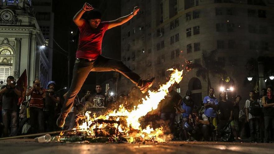 Miles de personas protestan en todo Brasil contra las reformas del Gobierno