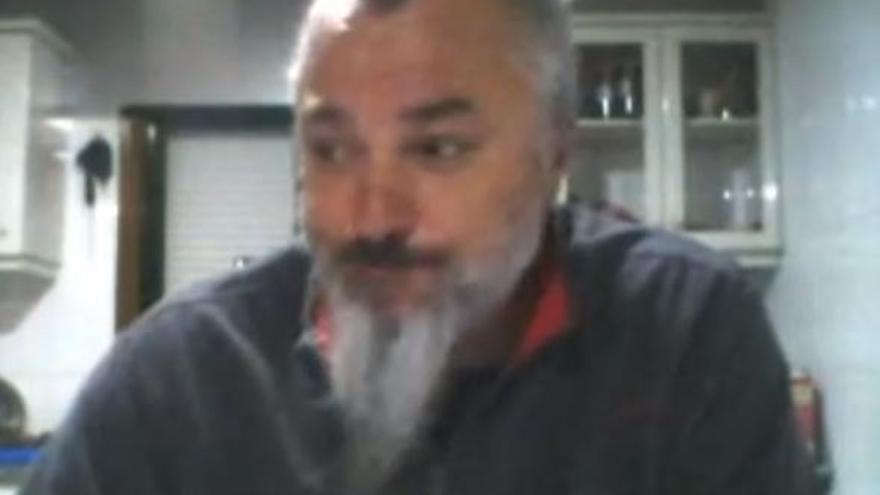Captura de pantalla do vídeo de Luciano Méndez