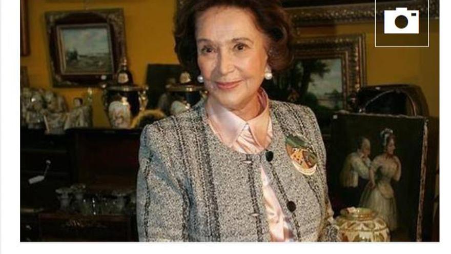 Hija de Franco