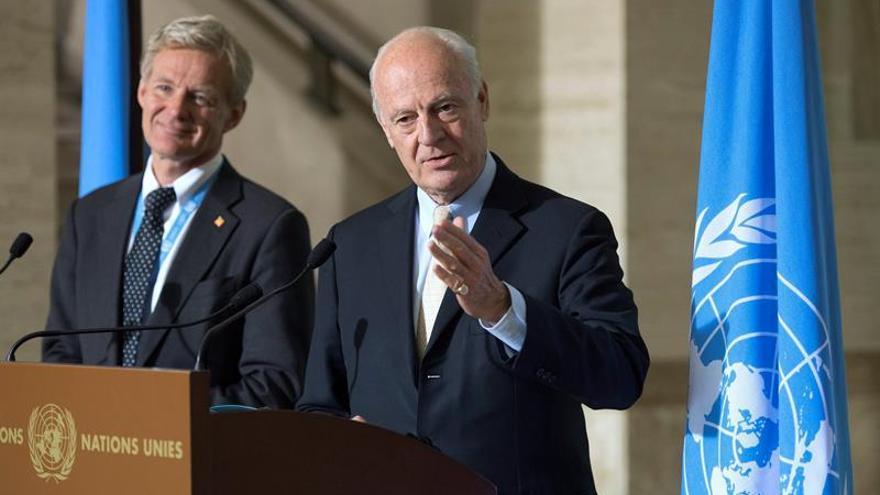 El mediador y el Consejo Seguridad tratan de fijar la fecha de reanudación del diálogo sirio