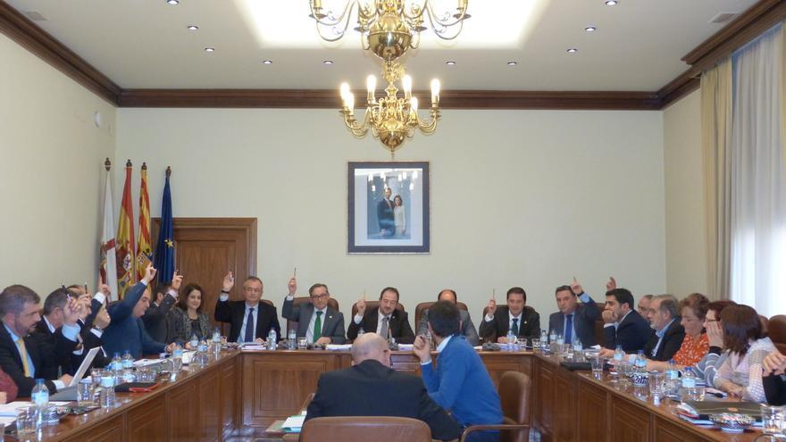 Pleno de la Diputación Provincial de Teruel