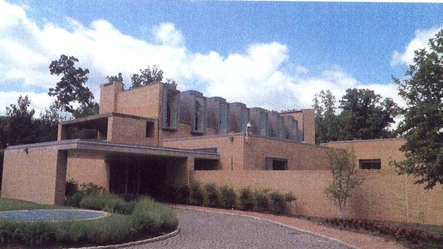 La casa del embajador en Washington.