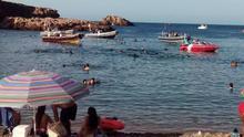 Según PROCABO, el balizamiento para baños de las calas de Cabo de Palos se está planeando demasiado cerca de la costa