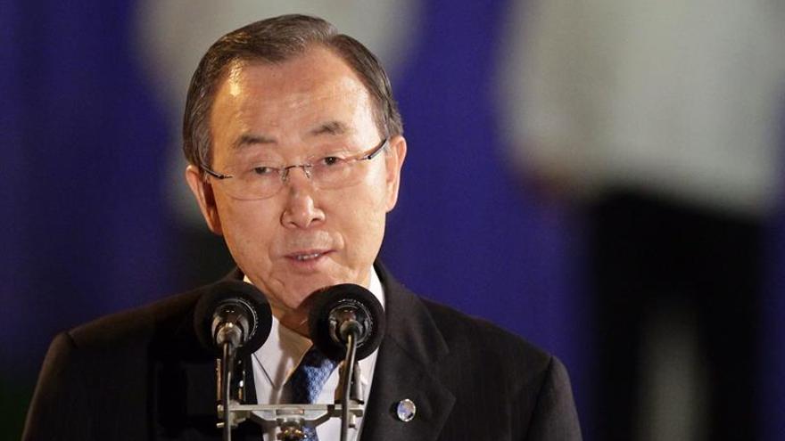 Ban pide apoyo a EE.UU. y Rusia para facilitar la entrega de ayuda en Siria