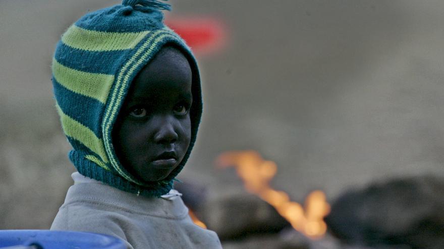 Los niños de la calle de Eldoret sufren frecuentes ataques de la policía, como parte del conflicto étnico que asuela Kenia.