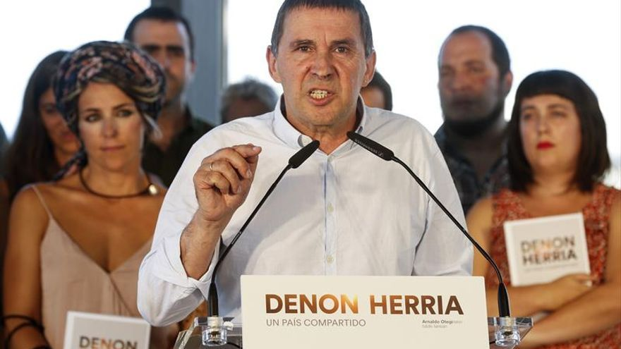 El Constitucional no admite el recurso de Otegi que no podrá concurrir a las elecciones vascas
