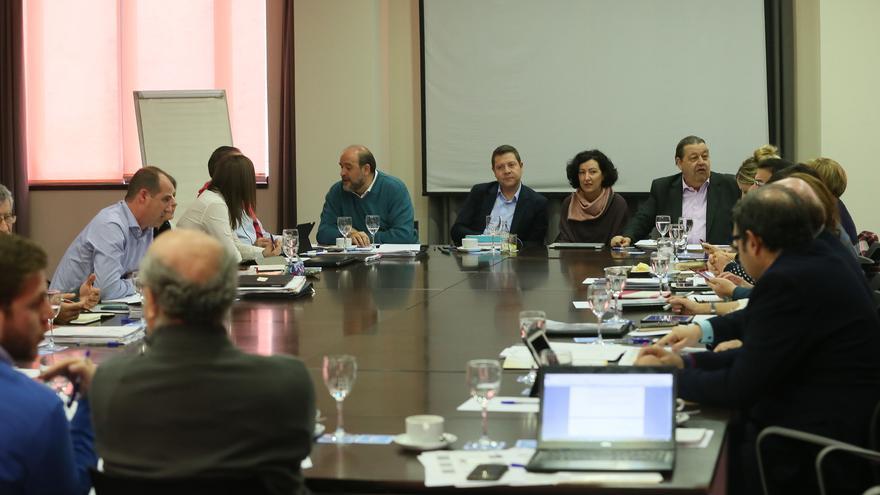 Reunión del Gobierno de Castilla-La Mancha en Trillo / JCCM