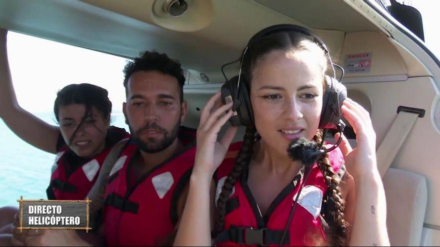 Lola, Omar y Melyssa en 'Supervivientes 2021'