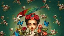 Frida Kahlo retratada por el artista francés Benjamin Lacombe