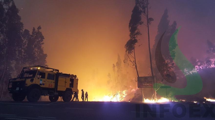 Infoex Portugal incendio
