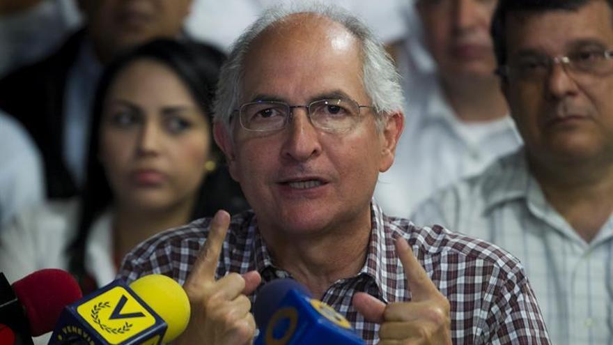 Colombia confirma que el opositor venezolano Antonio Ledezma está en el país