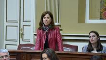 Teresa Cruz Oval, diputada del PSOE en el Parlamento canario. (EUROPA PRESS)