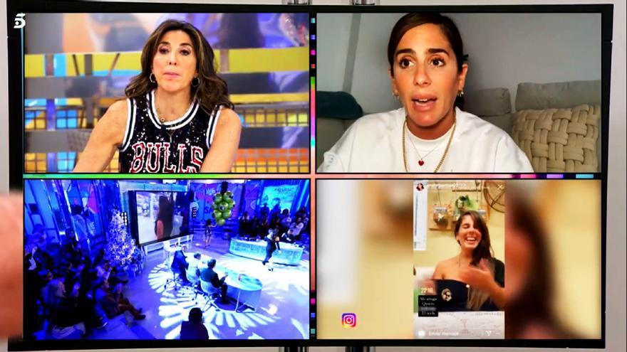 Paz Padilla y Anabel Pantoja en 'Sálvame'