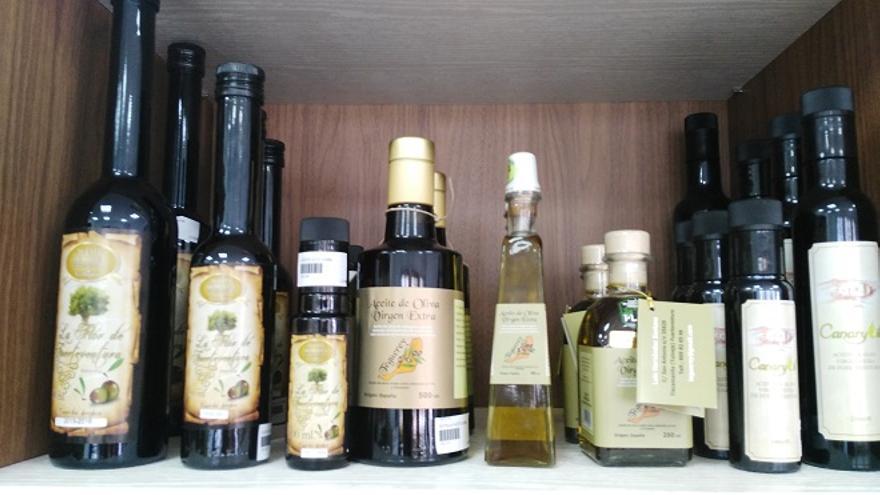 Aceites de oliva de Fuerteventura.
