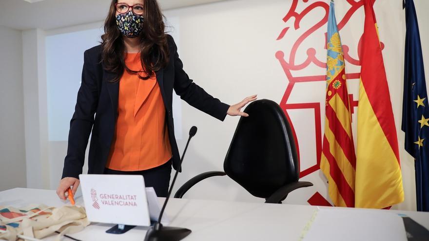 La vicepresidenta y Portavoz del Gobierno valenciano, Mónica Oltra.