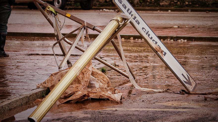 Efectos de las inundaciones del pasado mes de diciembre en Campoo. | ALMA CAMACHO