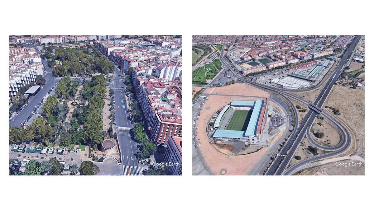 Ortofotos de Google Earth durante el confinamiento en Córdoba