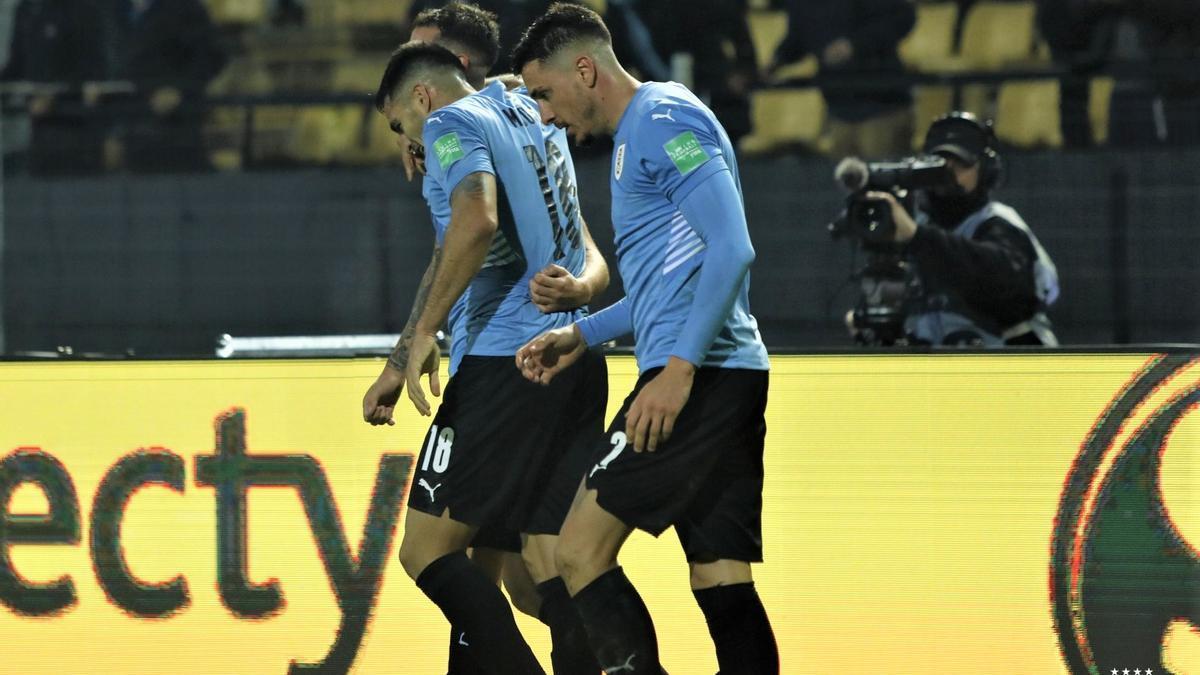 Uruguay pudo doblegar a Ecuador en el descuento con un gol de Pereiro.