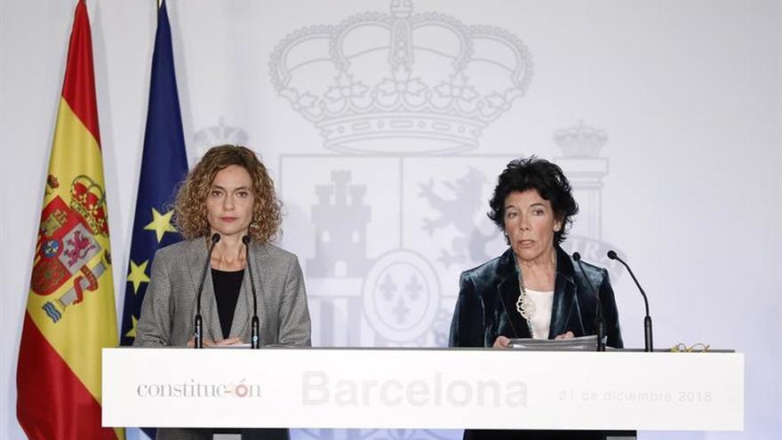 El Gobierno cree que la reunión Sánchez-Torra abre un espacio para continuar el diálogo