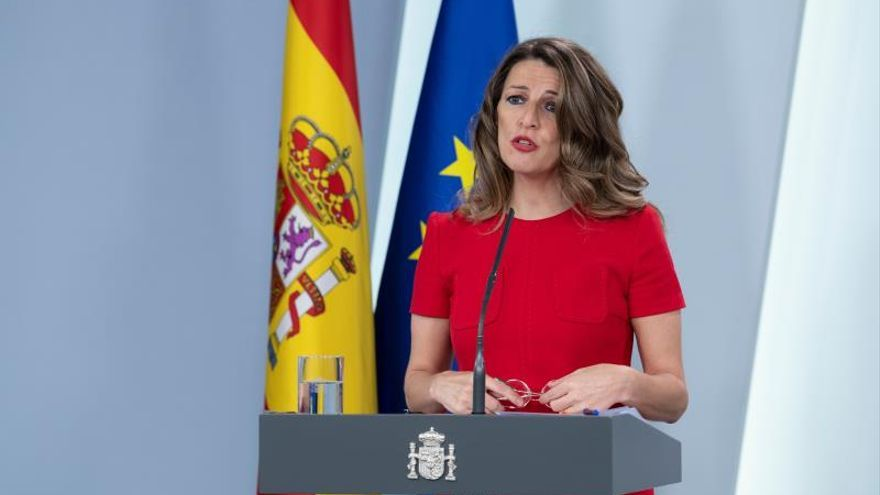 Díaz compara a los afectados por ERTE con quien está de baja por maternidad