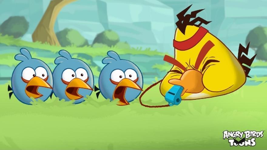Rovio ya está trabajando en la segunda temporada de Angry Birds Toons