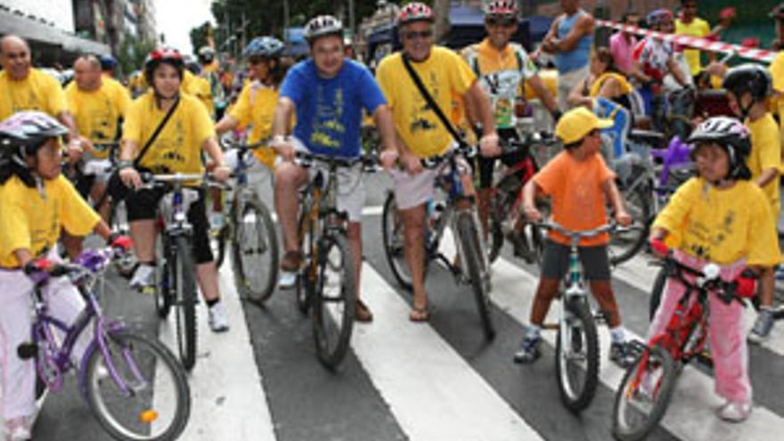 Imagen de una de las pasadas ediciones de la Semana de Movilidad en Las Palmas de Gran Canaria. (CANARIAS AHORA)